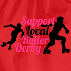 Support local roller derby T-Shirts - Turnbeutel