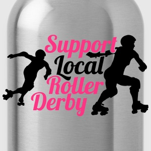 Support local roller derby Tee shirts - Gourde