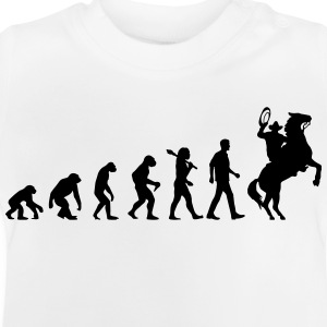 Evolution of Cowboys T-Shirts - Baby T-Shirt