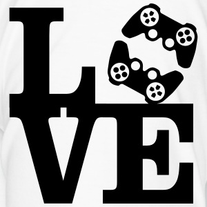 Love Gaming (Controller) Mugs & Drinkware - Men's Premium T-Shirt