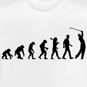Evolution Of Golf Langarmshirts - Baby T-Shirt