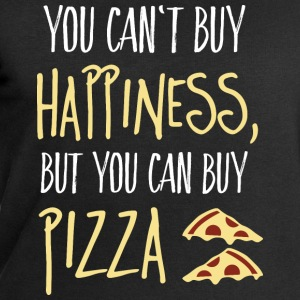 Cant buy happiness, but pizza kan inte köpa lycka, men pizza Toppar - Sweatshirt herr från Stanley & Stella
