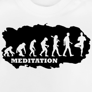 Evolution Of Yoga T-Shirts - Baby T-Shirt