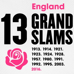 England Rugby Union 13 Grand Slams - Baseball Cap