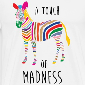 A Touch of Madness - Zebra - Color your Life ! Grembiuli - Maglietta Premium da uomo
