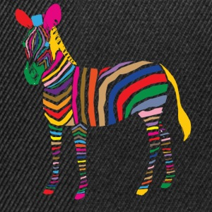 A Touch of Madness - Zebra - Color your Life ! T-shirts - Snapbackkeps