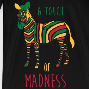 A Touch of Madness - Zebra - Color your Life ! Sweat-shirts - T-shirt Premium Homme