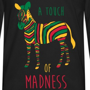 A Touch of Madness - Zebra - Color your Life ! Sweat-shirts - T-shirt manches longues Premium Homme