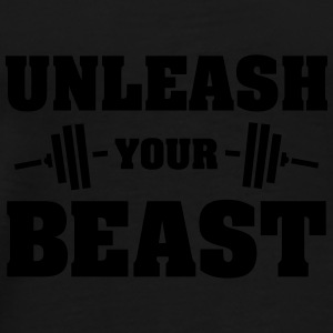 Unleash Your Beast Mokken & toebehoor - Mannen Premium T-shirt