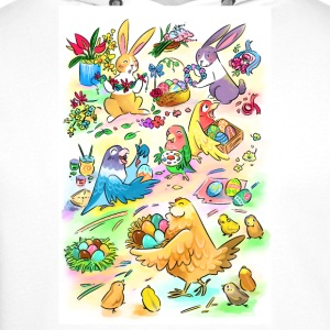 Easter egg party - Men's Premium Hoodie