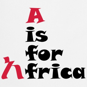 A is For Africa - Cooking Apron