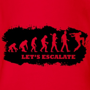 Escalation | EXCLUSIVE T-Shirts - Baby Bio-Kurzarm-Body
