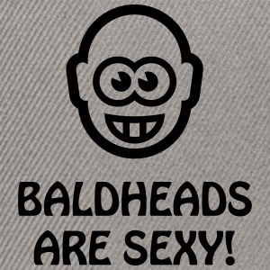 Baldheads Are Sexy! (Bald Head / 1C) T-Shirts - Snapback Cap