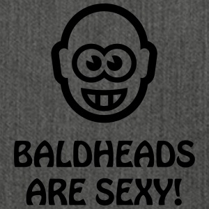 Baldheads Are Sexy! (Bald Head / 1C) T-Shirts - Shoulder Bag made from recycled material