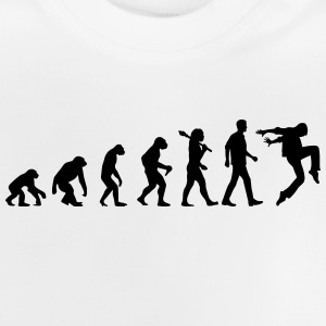 Evolution of Dancing T-Shirts - Baby T-Shirt