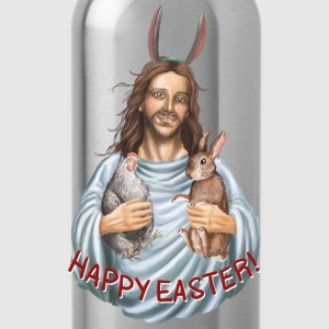 happy easter! Oster Jesus T-Shirts - Trinkflasche