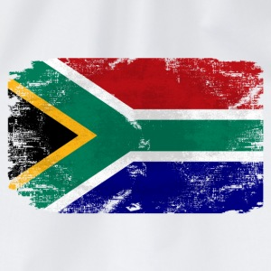 South Africa Flag - Vintage Look  T-Shirts - Turnbeutel