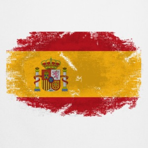 Spain Flag - Vintage Look  T-Shirts - Kochschürze