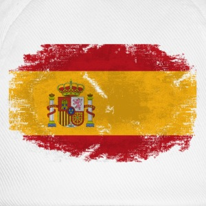 Spain Flag - Vintage Look  T-Shirts - Baseballkappe