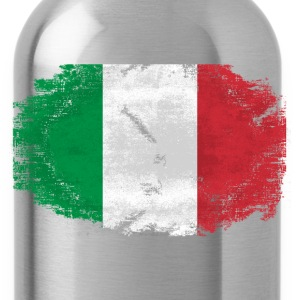 Italy Flag - Vintage Look T-Shirts - Trinkflasche