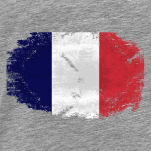 France Flag - Vintage Look Pullover & Hoodies - Männer Premium T-Shirt