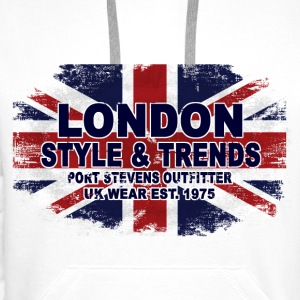 Union Jack - UK Flag - Vintage Look T-Shirts - Männer Premium Hoodie