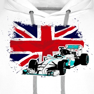Formula One - Union Jack - UK Flag T-Shirts - Männer Premium Hoodie