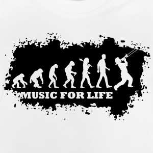 Evolution Of Jazz T-Shirts - Baby T-Shirt