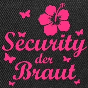 Security der Braut - Snapback Cap