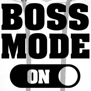 Boss Mode (On) T-shirts - Premiumluvtröja herr