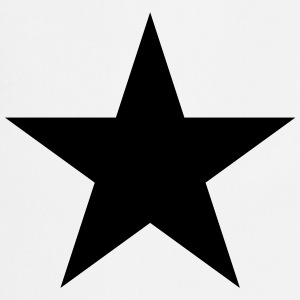 Black star, music, rock, five, heroes, space, best - Cooking Apron