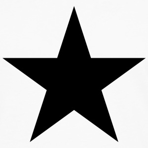 Black star, music, rock, five, heroes, space, best Magliette - Maglietta Premium a manica lunga da uomo