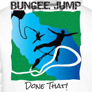 Bungee Jump – Done That! - Men's Premium Hoodie