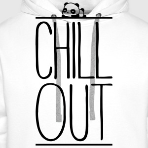 Chill Out Vêtements de sport - Sweat-shirt à capuche Premium pour hommes