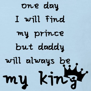 daddy is my king Baby Bodys - Kinder Bio-T-Shirt