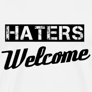Haters Long Sleeve Shirts - Men's Premium T-Shirt