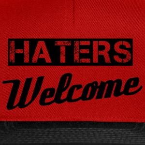 Haters T-shirts - Snapbackkeps