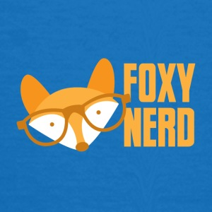 foxy nerd Caps & Hats - Women's T-Shirt
