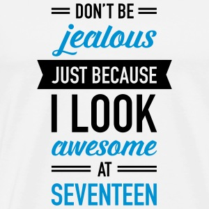 Awesome At Seventeen Vêtements de sport - T-shirt Premium Homme