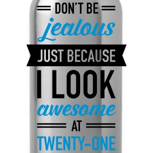 Awesome At Twenty-One Camisetas - Cantimplora