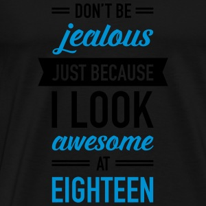 Awesome At Eighteen Tops - Men's Premium T-Shirt