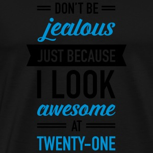 Awesome At Twenty-One Sports wear - Men's Premium T-Shirt