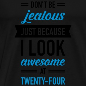 Awesome At Twenty-Four Tops - Men's Premium T-Shirt