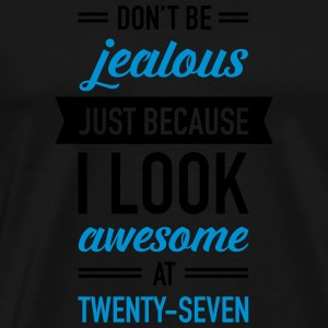 Awesome At Twenty-Seven Sports wear - Men's Premium T-Shirt