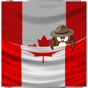 proud Canadian owl - Gourde
