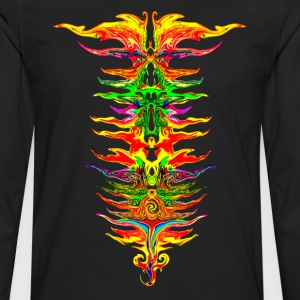 Color your life! colorful, party, music, rainbow  - Men's Premium Longsleeve Shirt