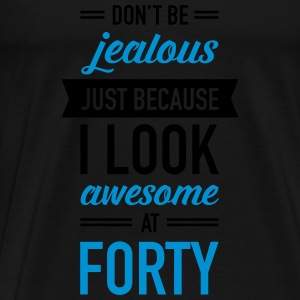 Awesome At Forty Tops - Men's Premium T-Shirt