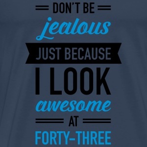Awesome At Forty-Three Débardeurs - T-shirt Premium Homme