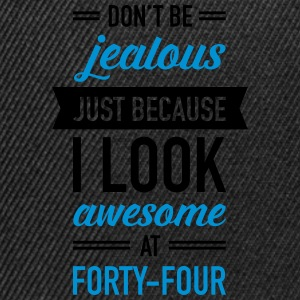 Awesome At Forty-Four T-shirts - Snapback Cap
