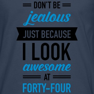 Awesome At Forty-Four Débardeurs - T-shirt manches longues Premium Homme
